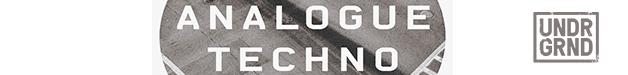 Analogue techno628x75
