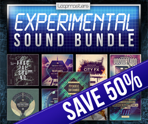 300 x 250 lm experimental sound bundle