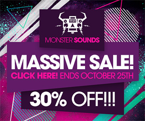 Monstersounds sale 30percent 300 250