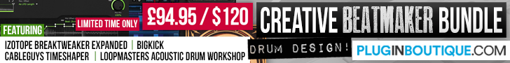 728 x 90 pib creative beatmaker bundle pluginboutique