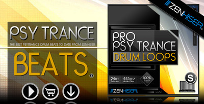 S   pro psytrance drum loops 01