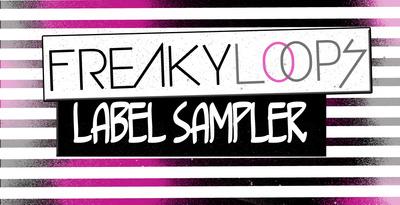 Freaky loops label sampler 1000x512
