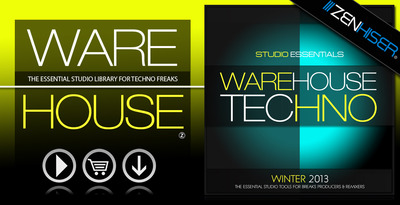 Studio essentials   warehouse techno