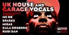 UK House & Garage Vocals