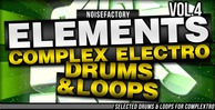 Cover noisefactory elements vol.4 complex electro drums   loops 1000x512