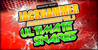 Cover noisefactory jackhammer vol.3 ultimate snares 1000x512