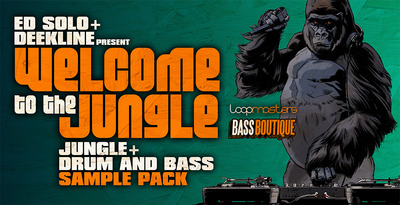 Bass Boutique - Ed Solo Deekline Welcome To The Jungle (WAV, EXS, NKI, SXT)