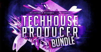 Tech house producer boundle 512