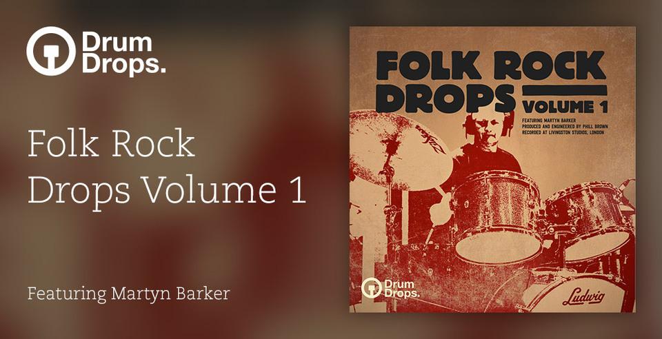 Folk rock drops volume 1