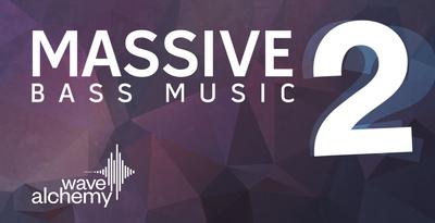 Massive bass music 2 banner