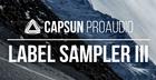 CAPSUN ProAudio Label Sampler Three