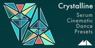 Crystalline banner