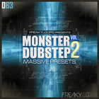 Monster dubstep vol 2 1000x1000